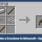 How to Make a Crossbow In Minecraft - Update 2020